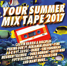 +  YOUR SUMMER MIX TAPE 2017 / VARIOUS ARTISTS - 2 CD SET-as new condition