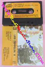 MC LED ZEPPELIN II 1975 italy ATLANTIC W 440037 JIMMY PAGE no cd lp vhs dvd
