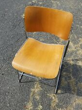 DAVID ROWLAND 40/4 Vintage Bent Plywood Ames era Mid Century Stacking Chair