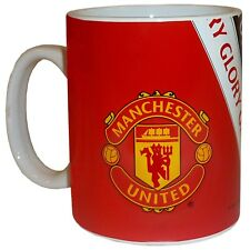 Manchester United Football Club Official Soccer Gift Boxed Glory Glory Mug