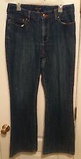 Seven Bootcut Womens Size 12 Medium Wash Stretch Denim Blue Jeans