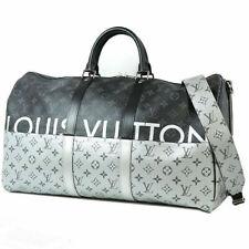 LOUIS VUITTON Duffle Bag Keepall 50 Monogram Eclipse Sprit M43817 KIM JONES New
