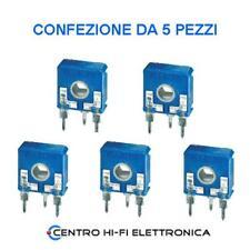 1 Pezzo TRIMMER ORIZZONTALE PT10 VALORE 220 ohm