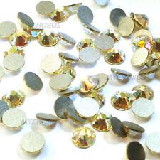1440 Swarovski 2088 12ss crystal flatback wholesale 3mm ss12 JONQUIL AB (213 AB)