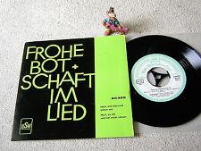 """FROHE BOTSCHAFT IM LIED 65405 Herr mit Inbrunst bitten wir H. BÖSCHE 7"""" +FOC HSW"""