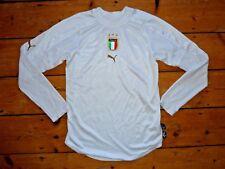 Pequeño Italia Camiseta de Fútbol Italia 2004/05 Fútbol Camiseta Maglla Camiseta