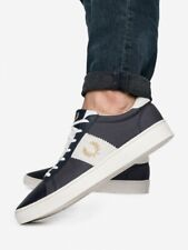 Fred Perry Spencer Poly Suede B7144 Plimsole Sizes 7-10 RRP£70