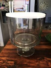New listing Pampered Chef Trifle Bowl and Stand With Lid #2832 - Never Used