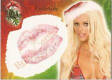 "Benchwarmer 2006 Holiday Series - 8 of 10 ""Cecille Gahr"" Kiss Card"