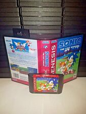 Sonic the Hedgehog - The Lost Worlds Game for Sega Genesis! Cart & Box!