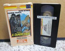 MUERTE SANGRE FRIA David Reynoso 1978 Death In Cold Blood VHS Valentín Trujillo