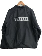 Vintage TOOL Band Aenima Tour Jacket Coat Snap Button Windbreaker 1996 1990's