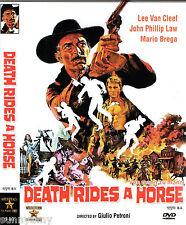 Death Rides a Horse - Lee Van Cleef John Phillip Law - Spaghetti Western DVD
