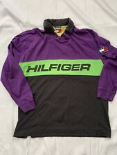 New listing Rare Vintage Tommy Hilfiger Long Sleeve Spell Out Polo!