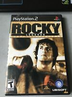 Rocky Legends (Sony PlayStation 2, 2004) COMPLETE