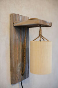 Wood wall sconce wooden lamp eco-friendly lighting home decor light fixture lamp