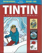 Blu Ray + DVD Tintin 3 Aventures Vol 6  NEUF sous cellophane