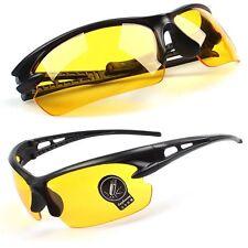 Gafas de sol, amarillas noche, mejoran la vision nocturna, + Funda, Sunglasses.