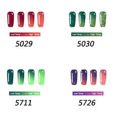 Thermolack Gellack Farbwechsel UV GEL Nagellack Color Changing Lacke Gel Polish