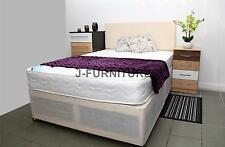 Brand  New 4ft Small Double Divan Bed Base Frame And Storage! Free Headboard