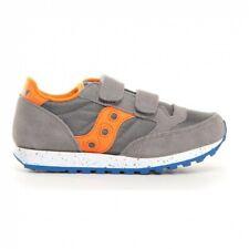 Scarpe Bambino ragazzo Saucony Jazz double hl Strappo grigio Sneakers SK261590