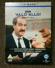 ALLO ALLO Series 1 & 2  BBC 3 x DVD BX SET  'ALLO 'ALLO Gorden Kaye Retro Comedy