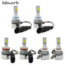 Combo CREE LED Headlight Kit Hi Low Bulbs 6000K 9005 + H11 + 9006 3900W 585000LM