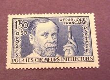 France Stamp Scott#  B53 Louis Pasteur 1936-37 MNH   C220