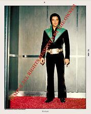 ELVIS PRESLEY  1970 tour in hotel elevator in fantastic 8x10 Super nice piece CR