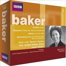 NEW - Baker by SCHUBERT / CHAUSSON / BERLIOZ / S