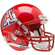 ARIZONA WILDCATS SCARLET SCHUTT XP FULL SIZE REPLICA FOOTBALL HELMET
