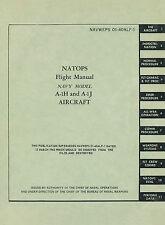 DOUGLAS A-1H & A-1J SKYRAIDER FLIGHT MANUAL  - NAVWEPS 01-40ALF - 1966