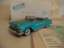 DANBURY MINT IMPALA CONVERTIBLE    1958 IN BOX.