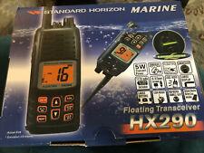 Standard Horizon Floating Transceiver Hx290 New Mint