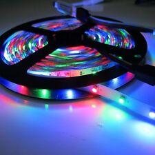 Flashing 5M 3528 SMD RGB 300LEDs LED Strip Lights Lamp 44Key IR Remote Controlle