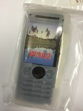 Sony Ericsson W902,W902i Silicon Case in White SCC632. Brand New in packaging.