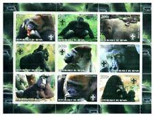 Scimmie e Gorilla - Foglio di 9 7808