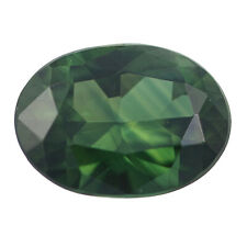 Loose Sapphire - Oval Cut 1.22ct Green Solitaire