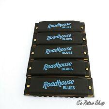 New ListingHohner Roadhouse Blues Harmonica 5 Pack (keys of A, C, D, G, E) in Custom Case
