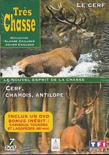 COFFRET 7 DVD NEUF TRES CHASSE LE CERF CHAMOIS ET ANTILOPE
