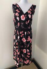 Ladies AUTOGRAPH Floral Stretch Dress. Size 20. NWT $89.95