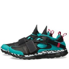 NIKE LAB FREE HUARACHE CARNIVORE SP 5.0 - BLACK / GREEN  - 801759 350 - UK 8