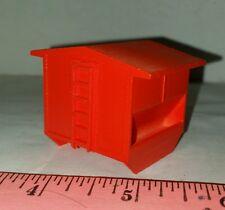 1/64 ertl orange feed bunk cattle creep feeder steer stuffer farm toy plastic