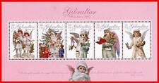 GIBRALTAR 2005 CHRISTMAS S/S SC#1033a MNH CV$8.75 RELIGION ANGELS