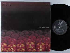 CRACK THE SKY From The Greenhouse GRUDGE LP VG++/VG+ gatefold *