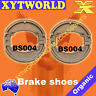 FRONT REAR Brake Shoes for HONDA SCV 100-3/F5 Lead 2003 2004 2005 2006 2007 2008