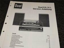 Dual  KA 32 L   Service - Anleitung