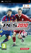 Pro Evolution soccer PES 2010 Platinum Sony PSP Konami