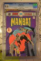 Man-Bat #1 CGC 9.6 1976 Batman Detective Comics