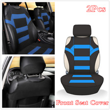 2Pcs Car Front Seat Covers Interior Accessories T-shirt Design Styling Cushions